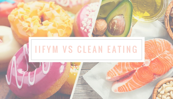 Flexible Dieting vs Clean Eating IIFYM Macros