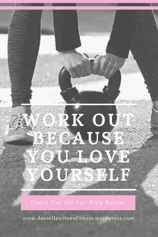 Work Out Because You Love Yourself- Are You Working Out For The Right Reasons